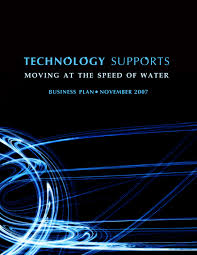 business document designs by shanelle roberts at coroflot com cover page for technology supports business plan