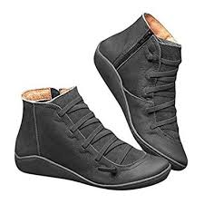 2019 <b>New Women's</b> Casual Arch Support <b>Boots</b> Waterproof Ankle ...