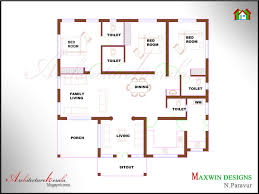 architecture kerala 3 bhk single floor house plan and traditional style elevation small business office business office floor plan