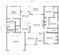 images about house plans blueprints on Pinterest   House     sq ft Laundry next to master closet  Walk in closets in all rooms