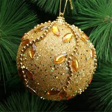 <b>Hot</b> Rhinestone Glitter Foam Balls <b>Christmas Tree</b> Hanging ...
