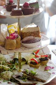 High Tea Kitchen Tea Sydney Eats Sadhana Kitchen Raw Vegan High Tea Sprinkle Of Green