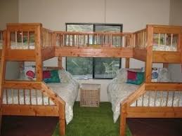 double bunk beds great for sleepovers or lots of kids ashley unique furniture bunk beds