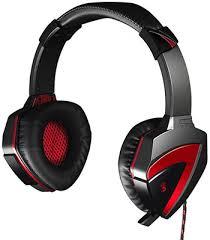 <b>Аудио гарнитура игровая проводная</b> A4Tech Bloody G501 черный ...