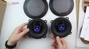 <b>Коаксиальная акустическая система</b> Kicx QR-502 - YouTube