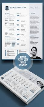cv resume templates psd mockups bies graphic single page resume template psd