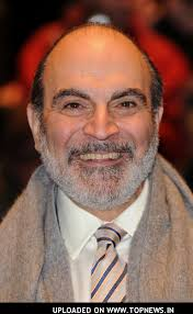 Well, until I saw the TV version of Terry Pratchett's Going Postal, I thought David Suchet was Poirot and Poirot was always and forever Suchet. - David-Suchet4