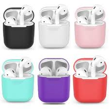 1PCS TPU Silicone Bluetooth Wireless <b>Earphone Case For AirPods</b> ...