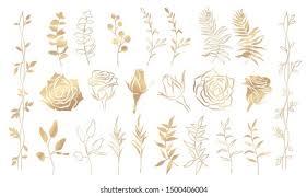 <b>Gold Flower</b> Images, Stock Photos & Vectors | Shutterstock