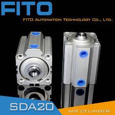 China Sda Series <b>Thin</b> Type Double Actiing <b>Cylinder</b> (<b>SDA50</b>*20 ...
