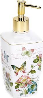 <b>Дозатор</b> для жидкого мыла <b>Avanti</b> Butterfly Garden, 13882D, 350 мл