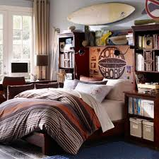 wooden informal teenage girl bedroom