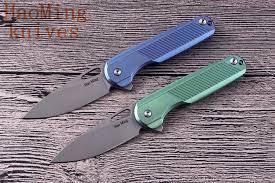 <b>M390</b> Tactical Flip <b>Folding</b> Knife Camping <b>Portable Mini</b> Key Chain ...