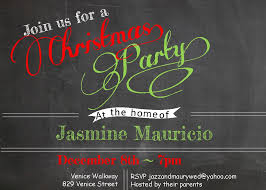 christmas dinner party invitations new designs for  chalk board christmas dinner party invitations