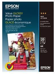 <b>Бумага</b> A4 20 шт. <b>Epson Value Glossy</b> Photo <b>Paper</b>