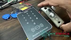 <b>RFID Door Access Control</b> System Demo - YouTube