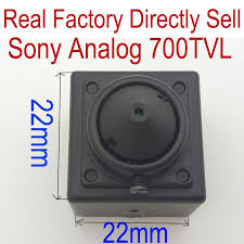 "700TVL <b>1/3</b>""<b>Sony 960H</b> Super HAD <b>CCD</b> II Mini Bullet Square ..."