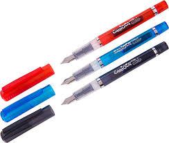 <b>Ручка</b> перьевая <b>Carioca</b> Stilo, цвет корпуса в ассортименте, 3 ...