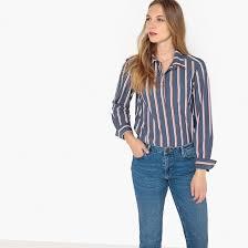<b>Рубашка прямого</b> покроя в полоску с длинными рукавами <b>La</b> ...