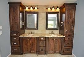 popular custom bathroom vanities give star for custom bathroom vanity cabinet with dark gray granite to