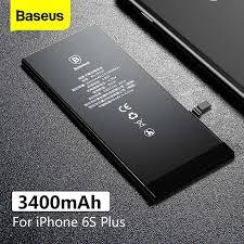 Оригинальный <b>аккумулятор Baseus</b> высокой емкости <b>3400mAh</b> ...