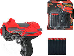 Игрушка <b>Shantou</b> Qunxing Toys Бластер 6-зарядный FJ839 ...