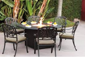 breathtaking outdoor dining sets design concept with black wrought iron chairs combine metal round table with stunning see true fire place ideas black wrought iron furniture