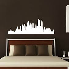 york wall decal city