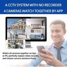 <b>Wetrans</b> Wireless <b>Security Camera System</b> 1080P <b>IP Camera</b> Wifi ...