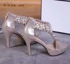 Hot Sale <b>2019 Fashion Pearl Luxury</b> Designer Women Shoes High ...