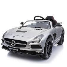 Детский <b>электромобиль Hollicy Mercedes-Benz SLS</b> AMG Silver ...