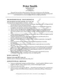 customer service resume skills list of skills for resume    customer service resume skills list