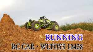 Unboxing - Running WLtoys 12428 <b>1/12 4WD</b> Crawler RC car 50km/h