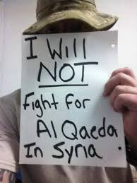 Image result for soldier i will not fight for al qaeda
