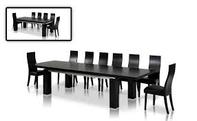 cream compact extending dining table: dining table maxi black  dining table