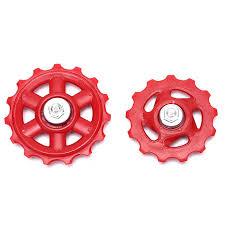 <b>1Pc Plastic Bike</b> Bearing Jockey Wheel Rear Derailleur Pulleys ...