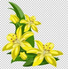 желтые лилии, желтый <b>цветок</b>, <b>тропический цветок</b> ...