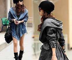 <b>Lisa Colly</b> New Fashion Spring <b>Autumn</b> Oversized Jeans Jacket ...