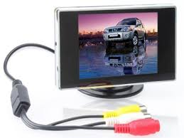 BW 3.5 Inch TFT LCD Monitor for Car / Automobile ... - Amazon.com