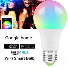 <b>E27 WiFi Smart Bulb</b>, RGB LED <b>Bulb</b>, <b>4.5W</b> RGBW LED <b>Smart Lights</b> ...