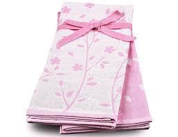 Набор <b>кухонных полотенец TAC</b> 40х60 (2 шт.) NINA - розовый ...