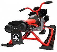 <b>Снегокат Yamaha Apex Snow</b> Bike Titanium black/red