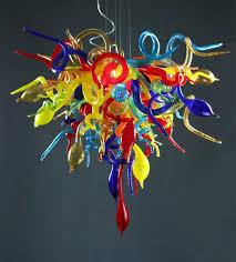 <b>Italy</b> Chihuly <b>Colorful Hand Blown Glass</b> Lights, Pendant Lighting ...