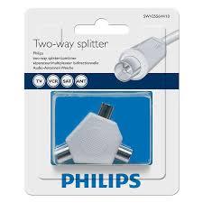 <b>Антенный разветвитель</b> на 2 ТВ, белый, <b>Philips</b> SWV2556W/10 ...