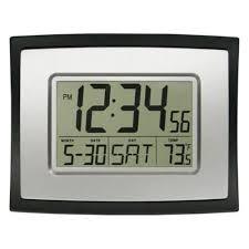 Buy La Crosse Technology Digital Wall Clock In Cheap Price On Malibabacom  Digital Office Wall  Home Design Ideas