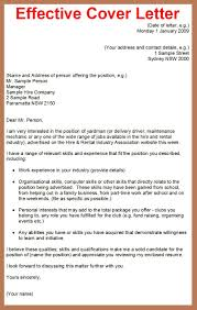 how to write effective cover letters template how to write effective cover letters