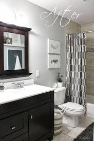 grey tile bathroom wall color