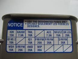 highlander fuse box wiring diagrams