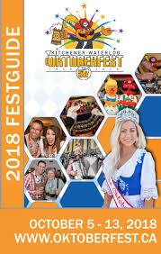 2018 Kitchener-Waterloo Oktoberfest FestGuide by Kitchener ...