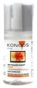 <b>Чистящий комплект для</b> экранов Konoos KT-200 200мл, купить в ...